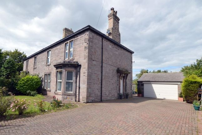 Thumbnail Semi-detached house for sale in Clarence House, 82 Shielfield Terrace, Tweedmouth, Berwick-Upon-Tweed