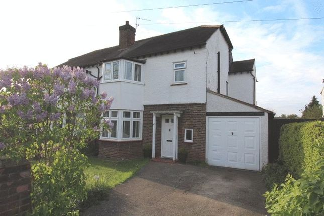 Thumbnail Semi-detached house for sale in The Mead, Wallington