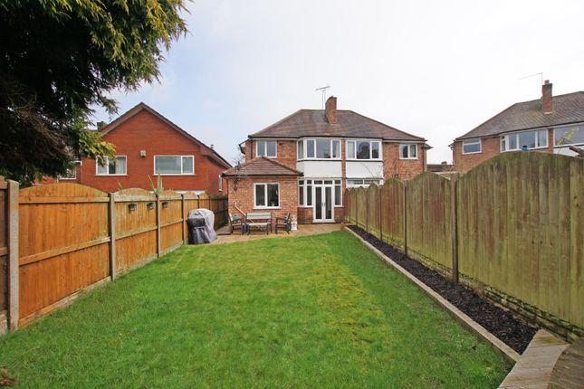 Rear Elevation of Parsonage Drive, Cofton Hackett, Birmingham B45