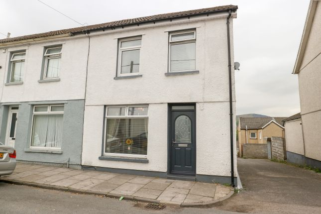 Thumbnail End terrace house for sale in Caerhendy Street, Penydarren, Merthyr Tydfil