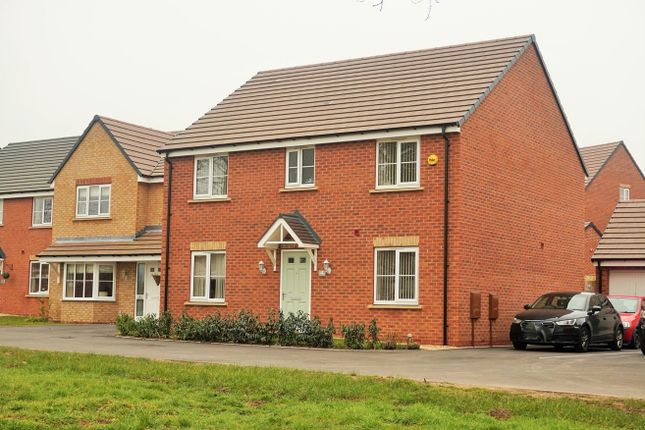 Thumbnail Detached house for sale in Machecoul Place, Shifnal Shropshire