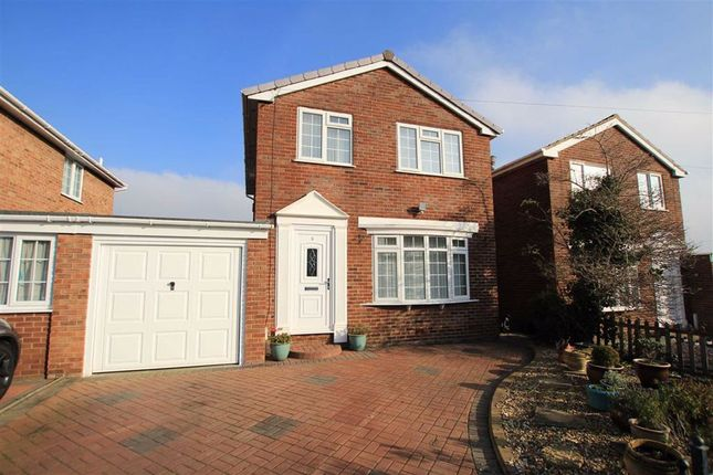 Thumbnail Link-detached house for sale in Maes Teg, Flint, Flintshire