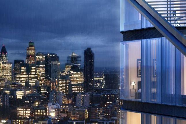 External of Lexicon Apartments, London EC1V