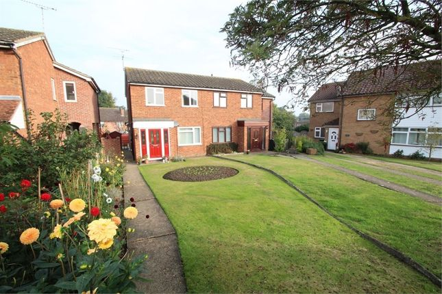 Thumbnail Semi-detached house for sale in Angel Road, Bramford, Ipswich, Suffolk