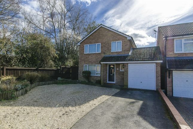 Thumbnail Detached house for sale in Noyce Drive, Fair Oak, Eastleigh, Hampshire