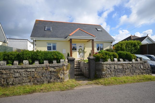 Thumbnail Bungalow for sale in Short Cross Road, Mount Hawke, Cornwall