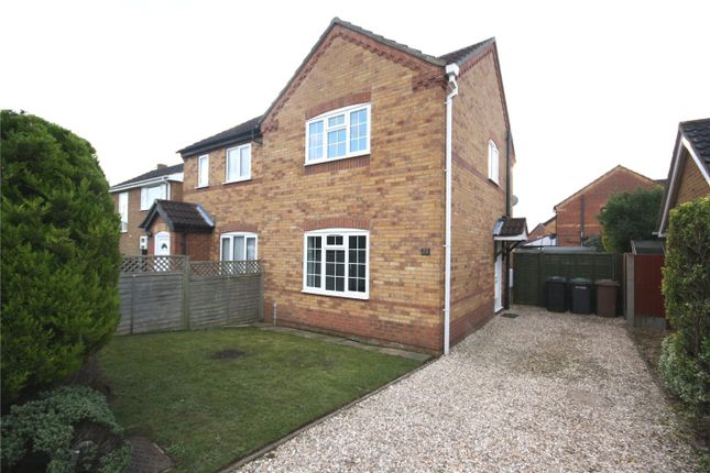 Thumbnail Semi-detached house to rent in Elmtree Road, Ruskington, Sleaford, Lincolnshire