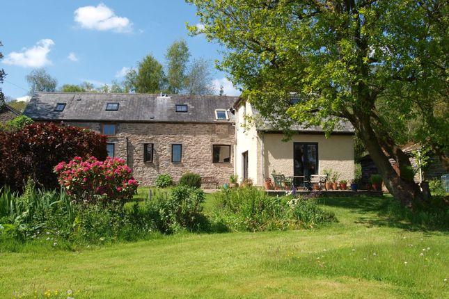 Thumbnail Barn conversion for sale in Llandefaelog Fach, Brecon