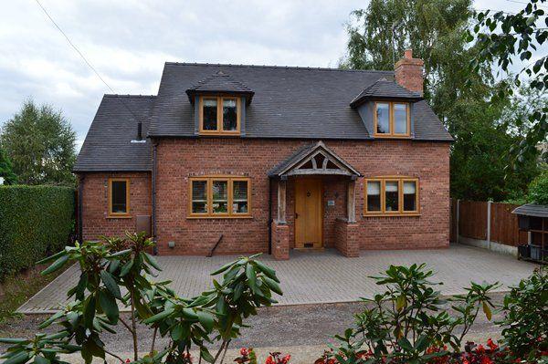Thumbnail Detached house for sale in School Lane, Market Drayton