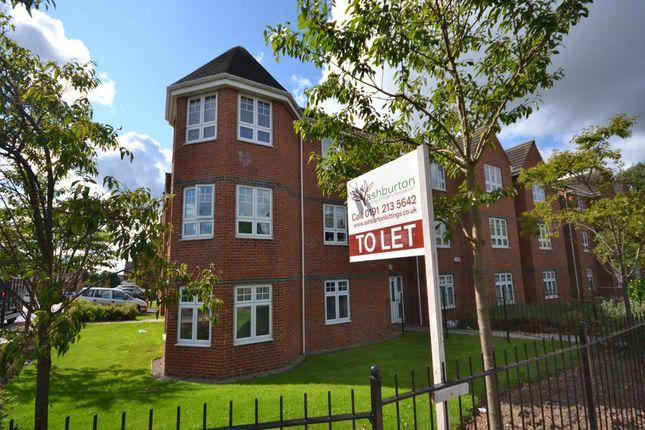 Thumbnail Flat to rent in Ashover Road, Kenton, Newcastle Upon Tyne