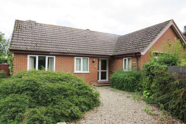 Thumbnail Detached bungalow for sale in Beechwood Court, Silfield, Wymondham