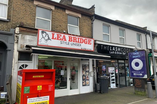 Retail premises to let in Leabridge Road, London
