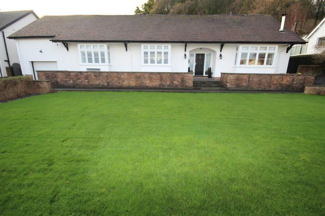 Thumbnail Detached bungalow for sale in Victoria Park, West End, Colwyn Bay