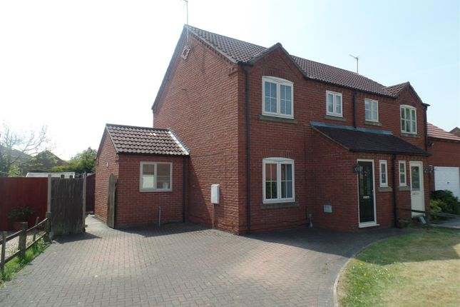 Thumbnail Semi-detached house for sale in Ashfield Grange, Saxilby, Lincoln