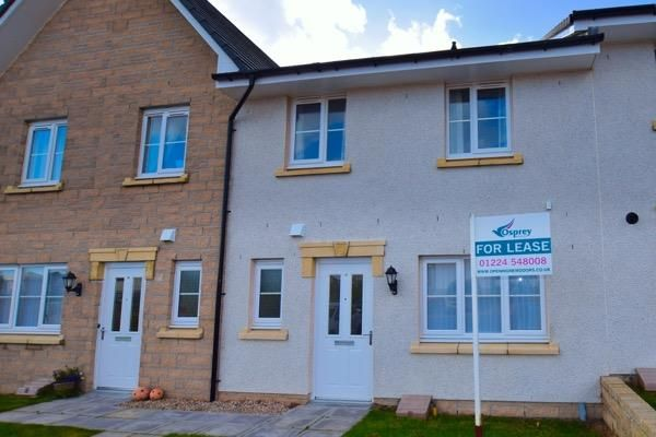 Thumbnail Terraced house to rent in 105 Skene View, Westhill, Aberdeenshire