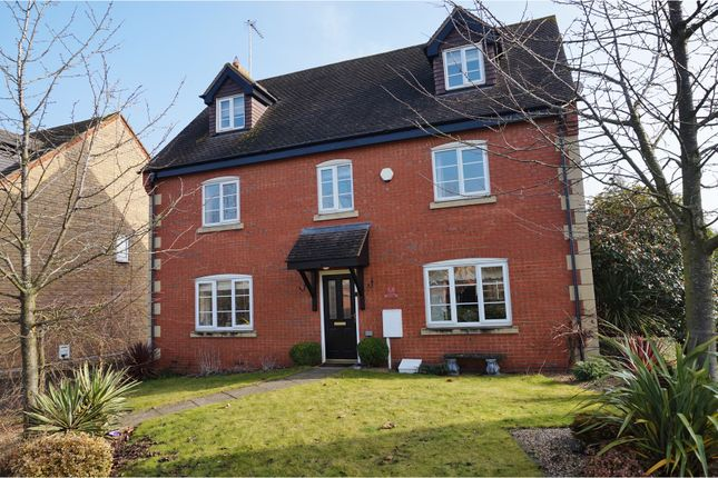 Thumbnail Detached house for sale in Squirrel Close, Northampton