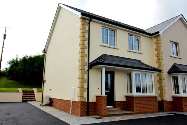 Thumbnail Semi-detached house for sale in Hazelwood, Llanybydder
