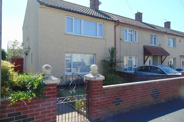 Thumbnail End terrace house for sale in Alvanley Road, Kirkby, Liverpool