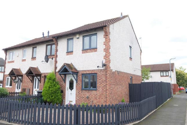 Thumbnail Semi-detached house for sale in Shankly Road, Carlisle