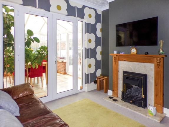 Lounge of Fosse Way, Syston, Leicester, Leicestershire LE7
