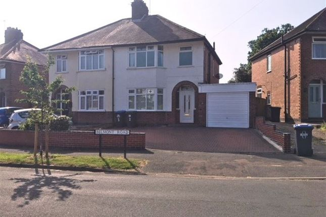 Thumbnail Semi-detached house to rent in Belmont Road, Rugby