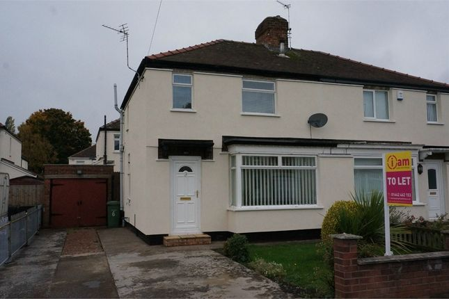Thumbnail Semi-detached house to rent in Rugby Road, Stockton, Cleveland