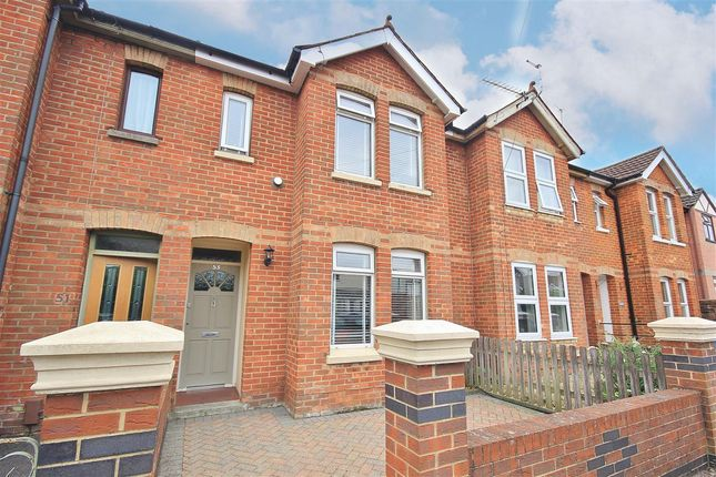 Thumbnail Terraced house for sale in Shillito Road, Parkstone, Poole