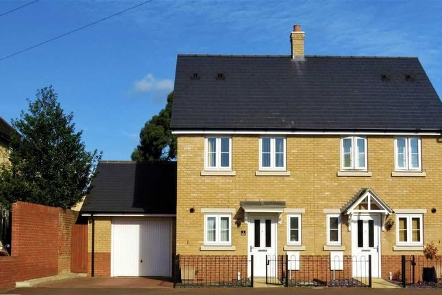 Thumbnail Semi-detached house for sale in Barside Terrace, Layer Road, Colchester