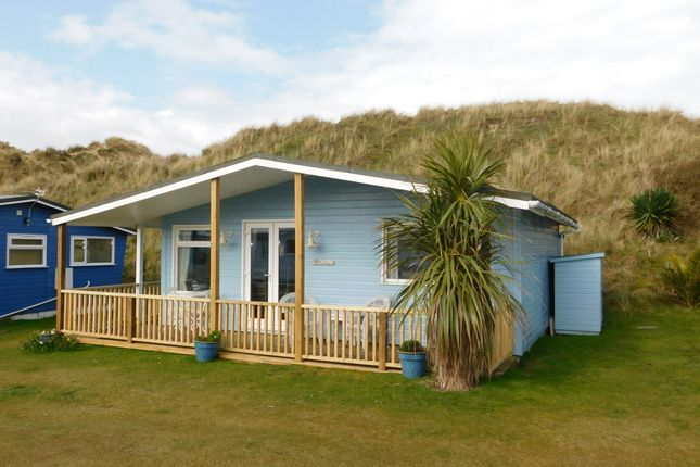 Thumbnail Mobile/park home for sale in Gwithian Sands Chalet Park, Hayle