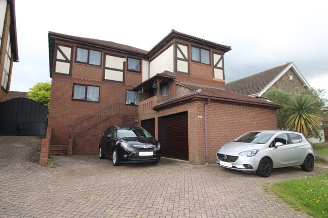 Thumbnail Detached house for sale in Lords Wood Lane, Chatham, Kent