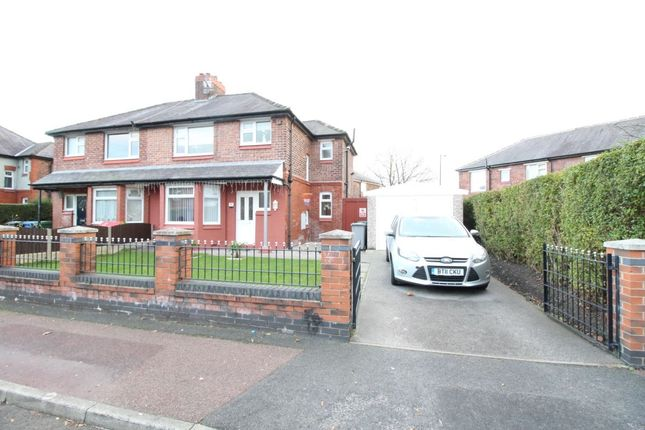 Thumbnail Semi-detached house for sale in Derbyshire Crescent, Stretford, Manchester