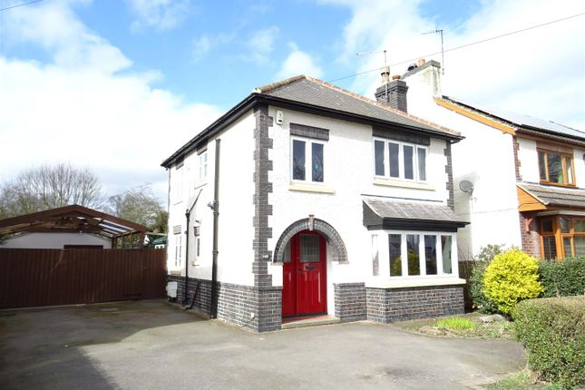 Thumbnail Detached house for sale in Forest Road, Coalville, Leicestershire
