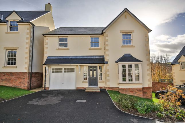 Thumbnail Detached house for sale in Llanfair Meadows, Aberthin, Cowbridge