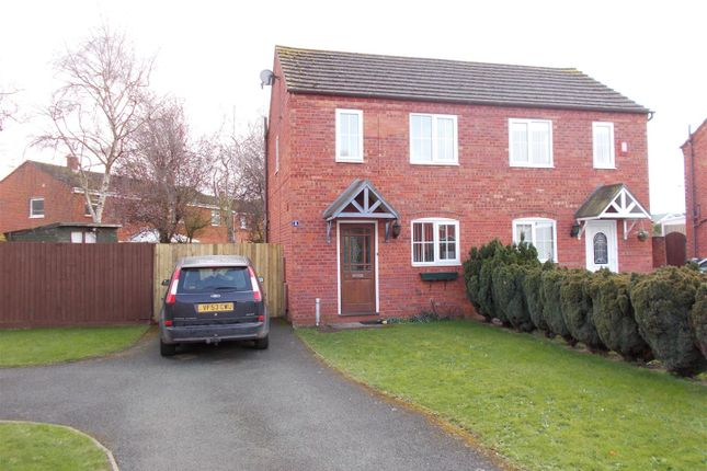 Thumbnail Semi-detached house for sale in Rowley Court, Shrewsbury