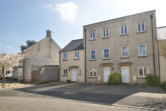 Thumbnail Town house for sale in Orchid Drive, Odd Down, Bath