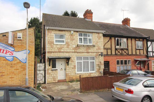 Thumbnail End terrace house for sale in Seymour Avenue, Luton, Bedfordshire