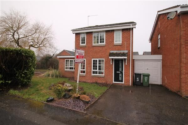 Thumbnail Detached house to rent in Berkeley Close, Winyates Green, Redditch