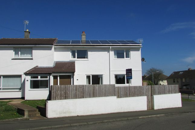 Thumbnail Semi-detached house to rent in Carbeile Road, Torpoint