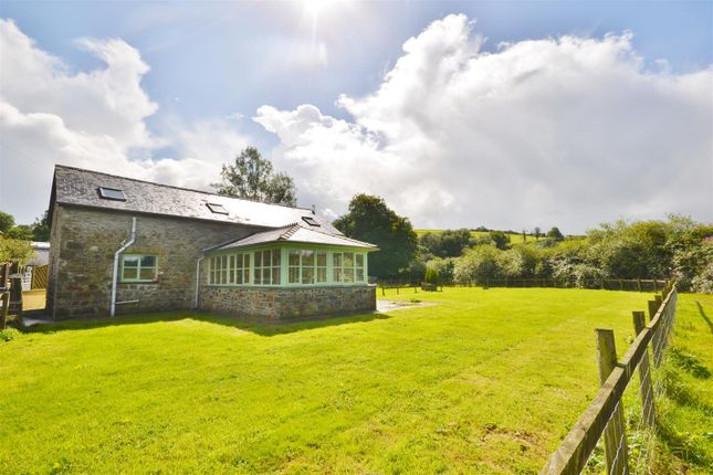 Thumbnail Barn conversion for sale in Rhydargaeau, Carmarthen