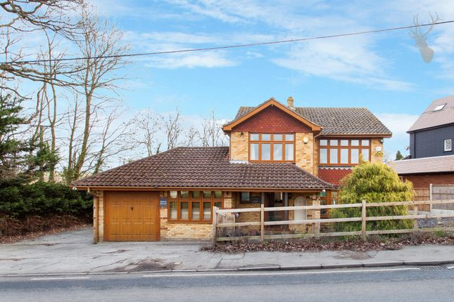 Thumbnail Detached house for sale in Tysea Hill, Stapleford Abbotts