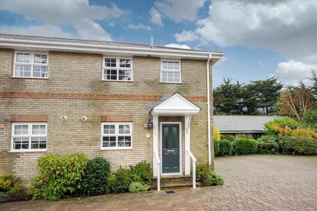 Thumbnail End terrace house for sale in Eastmore Court, Bouldnor Road, Bouldnor, Yarmouth