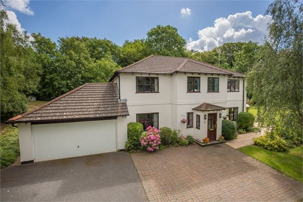 Thumbnail Detached house for sale in Bunting Close, Ogwell, Newton Abbot, Devon.