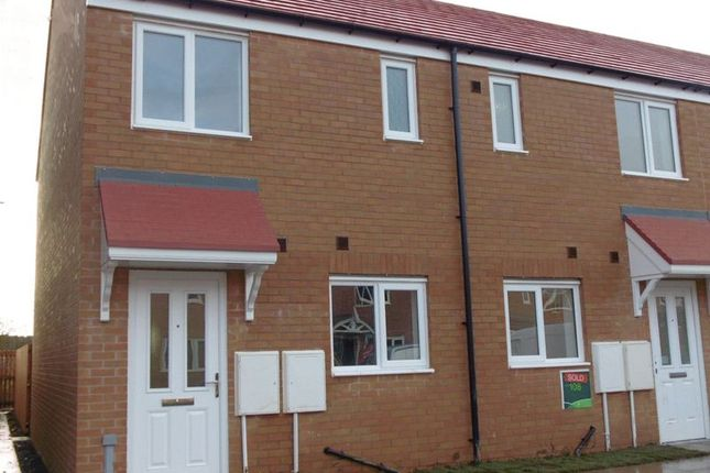 Thumbnail End terrace house to rent in Norham Drive, Amble, Morpeth
