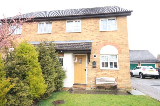 Thumbnail Semi-detached house to rent in Yew Tree Close, Middleton Cheney, Banbury