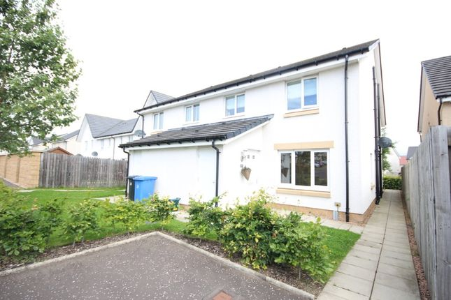 Thumbnail Semi-detached house to rent in Church View, Winchburgh, West Lothian