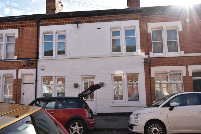 Thumbnail Terraced house to rent in Edward Road, Leicester