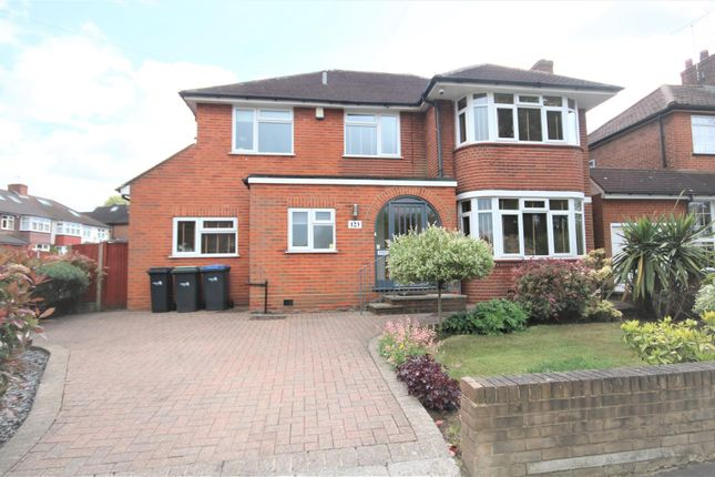 Thumbnail Detached house for sale in Lonsdale Drive, Oakwood, Enfield