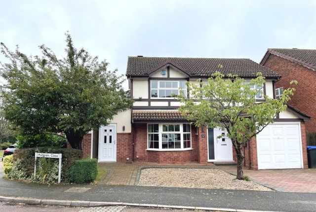 Thumbnail Detached house for sale in Marjoram Close, East Hunsbury, Northampton