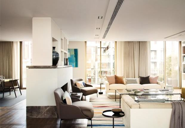 Thumbnail Flat for sale in Fitzroy Place, Fitzrovia