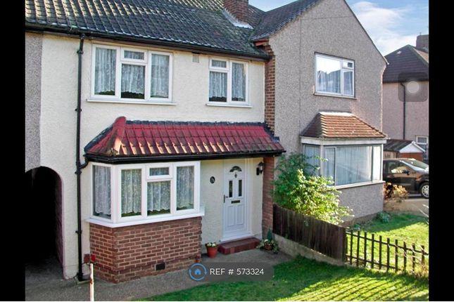 Thumbnail Terraced house to rent in Gascoigne Road, New Addington